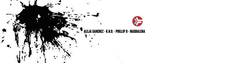 Techaound - about blank - Phillip O, K.N.D, Aleja Sánchez, Magdalena.