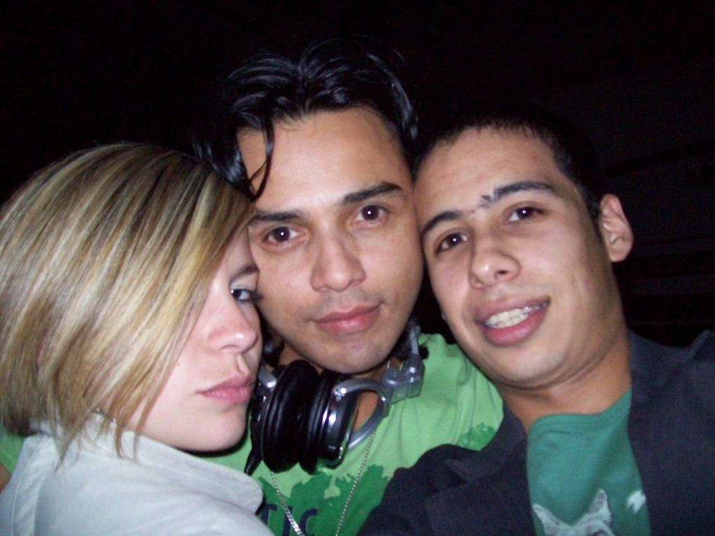 Phillip O and Gerard, club Cinema, Bogotá